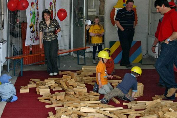 Tag der offenen Tür 2008 - Bob der Baumeister