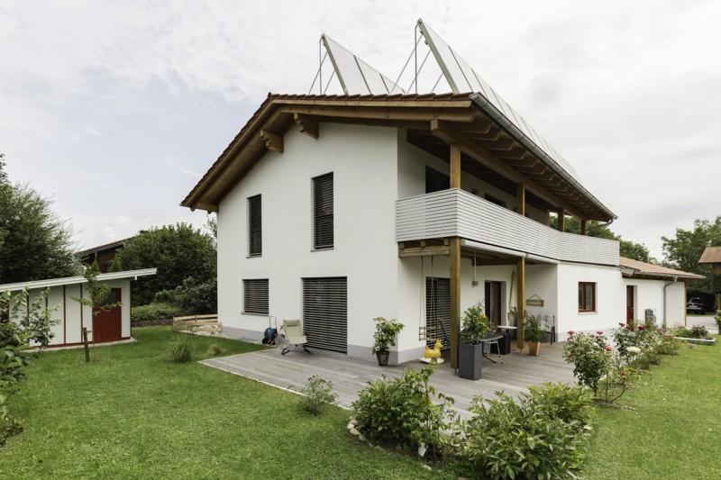 Einfamilienhaus mit Solar