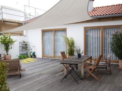 Terrassengestaltung Wohnhaus